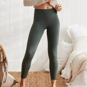 AERIE PLAY REAL ME HIGH WAISTED 7/8 LEGGING Sage